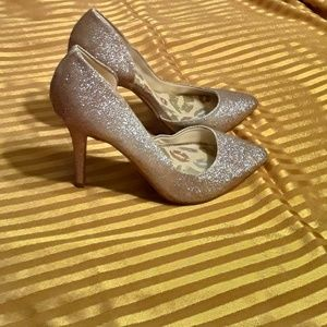 Juicy Couture Heels Cyra Glitter Gold Ladies